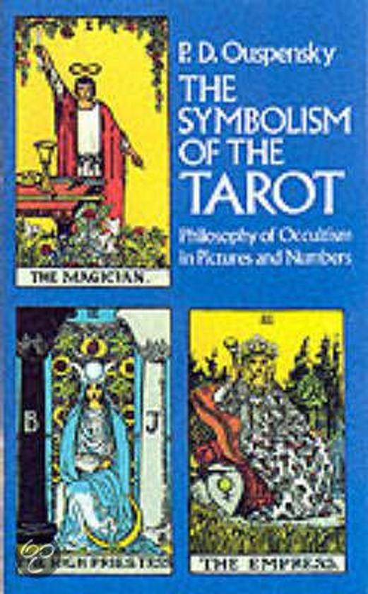 Bol The Symbolism Of The Tarot Ouspensky 9780486232911 Boeken