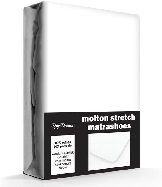 Day Dream - Molton hoeslaken - Katoen/Polyester - 90 x 200 cm