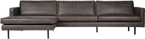 BePureHome Rodeo Bank 3,5-Zits Chaise Longue Links
