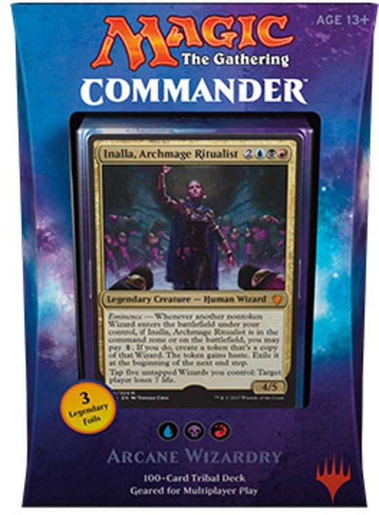Magic The Gathering Commander 2017 Arcane Wizardry