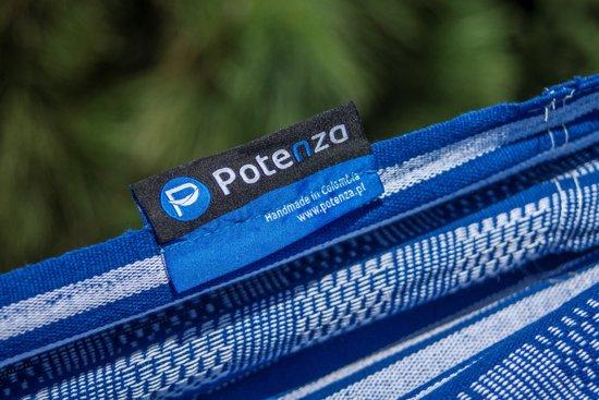 Potenza Tytan Sky-massieve hangmatset 2 personen / Tweepersoons hangmat met standaard (grafiet)