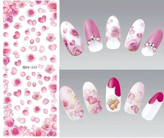 Bol Nail Art Nagel Stickers Roos Roze Roosjes