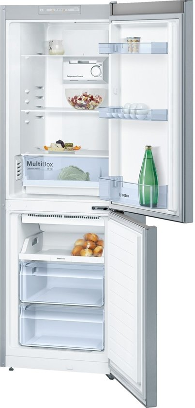 Bosch KGN33NL20 - Serie 2 - Koel-vriescombinatie - RVS look