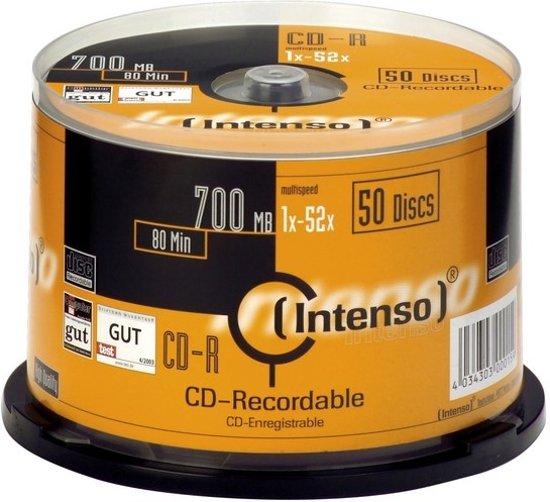 Intenso CD-R 700Mb 52x spindel (50)