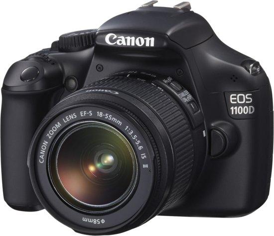Canon EOS 1100D + 18-55mm IS II - spiegelreflexcamera