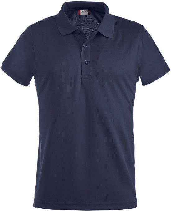 Clique Ice Polo Donker Navy maat XL