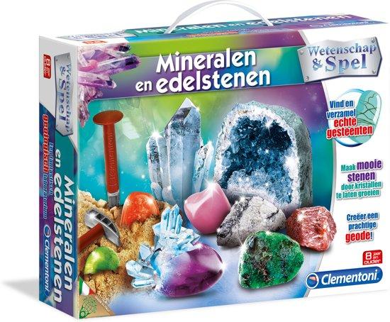 New bol.com   Mineralen en Edelstenen - wetenschap & spel, Clementoni @BM41