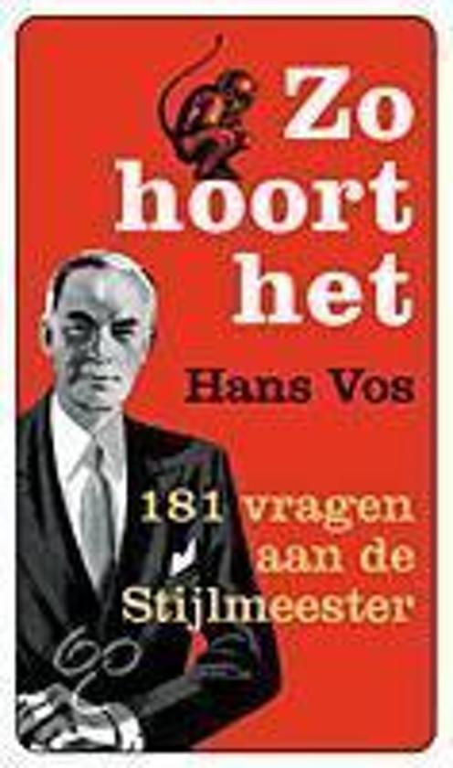 Zo Hoort Het - Hans Vos pdf epub