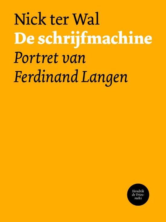 Hendrik de Vries-reeks 12 - De schrijfmachine