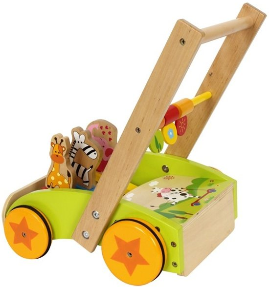 Base Toys loopwagen Dieren-revue
