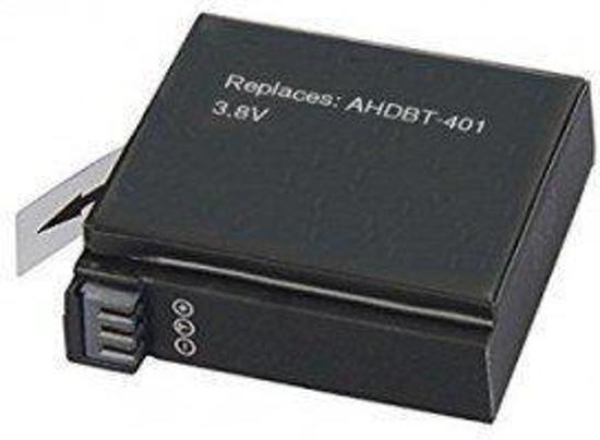AHDBT-401 Camera Batterij / GoPro Camera Accu / UwCamera Huismerk
