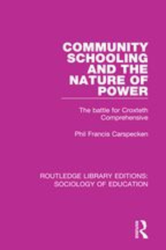 Community Schooling and the Nature of Power