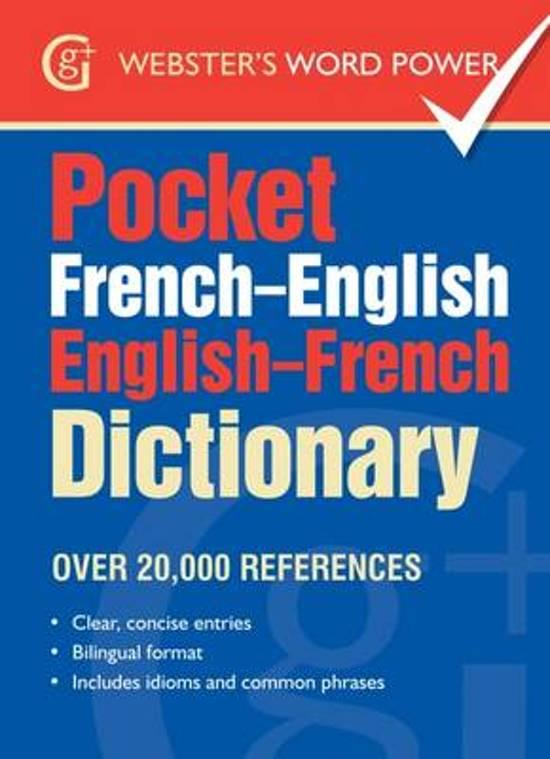 Pocket French-English English-French Dictionary