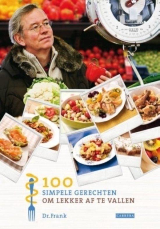 Dr. Frank 100 simpele gerechten om lekker af te vallen - Voorkant