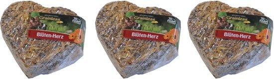 Graanvrij hart met kruiden en groenten 90 gram per 3 stuks