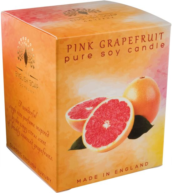 The English Soap Company - Geurkaars Pink Grapefruit - 170g