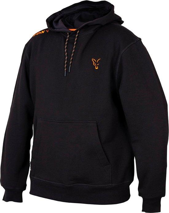 Fox Collection Black/Orange - Hoodie - Maat XXL