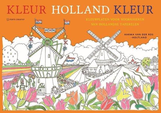 Kleurplaten Voor Volwassenen Muziek.Bol Com Kleur Holland Kleur Harma Van Der Ros Holtland