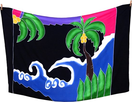 strand pareo sauna doek sarong rayon tropical beach strandlaken 115 180 cm. Black Bedroom Furniture Sets. Home Design Ideas