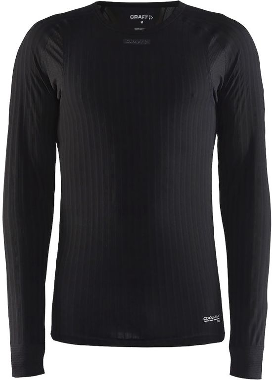 Craft Active Extreme 2.0 Rn Ls Sportshirt Heren - Black