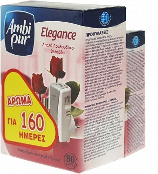 bol.com | Ambi Pur Elektrische Luchtverfrisser Elegance 2 x 18 ml