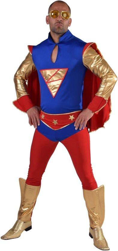 Superkrachten Superheld   Man   Medium   Carnaval kostuum   Verkleedkleding