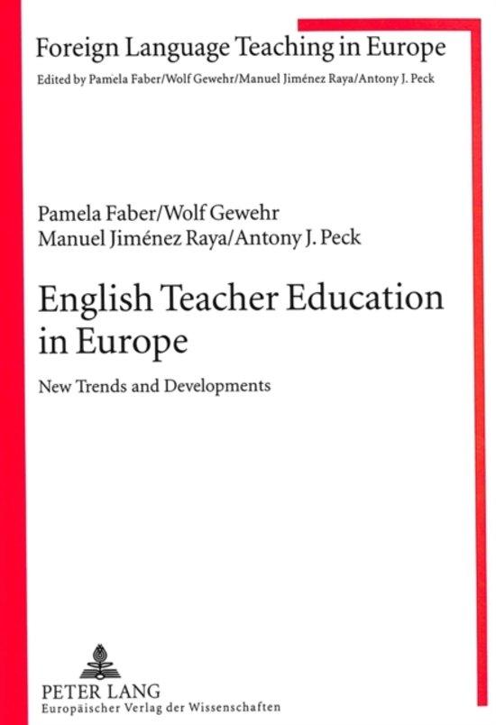 English Teacher Education in Europe