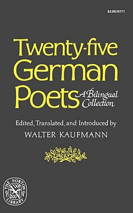 Twenty-Five German Poets