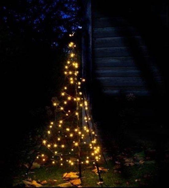 fairybell kerstverlichting buiten 3d 145cm 120led warm white