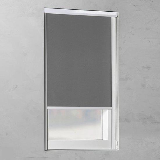 Pure Living - Cassette Rolgordijn Verduisterend - Grey - 50x175 cm