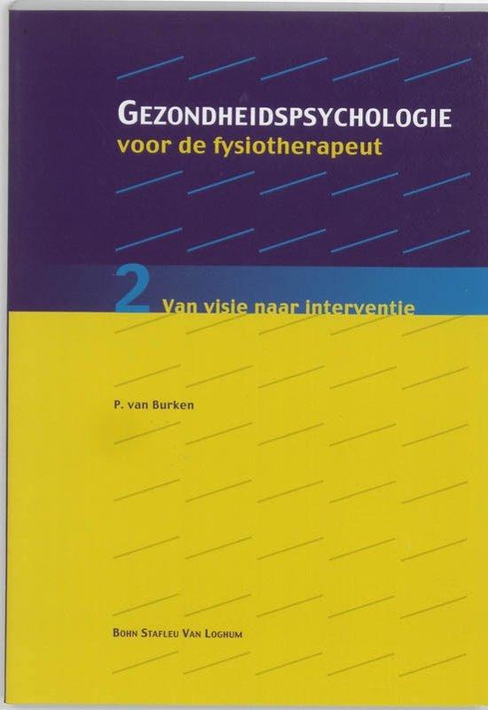 Gezondheidspsychologie voor de fysiotherapeut 2