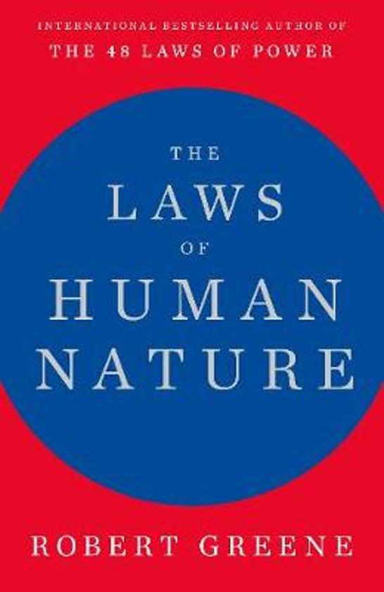 Boek cover The Laws of Human Nature van Robert Greene (Hardcover)
