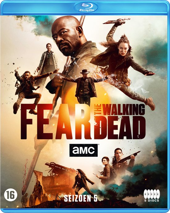 Afbeelding van Fear The Walking Dead Seizoen 5 (Blu-Ray)