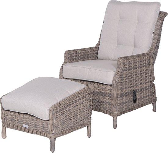 Relaxstoel met voetenbank brouwerijdehogestins for Relax stoel