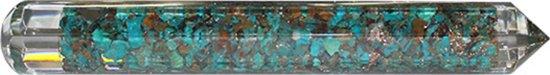 Orgone Facet Massage Wand - Chrysocolla