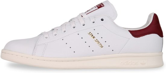 Adidas Stan Smith - Heren - Wit/Rood - Maat 44 2/3
