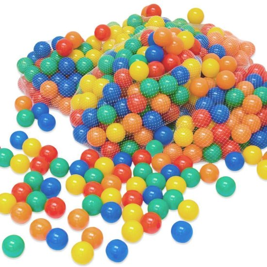 Kogelbad ballen 6 cm diameter 2000 ballen