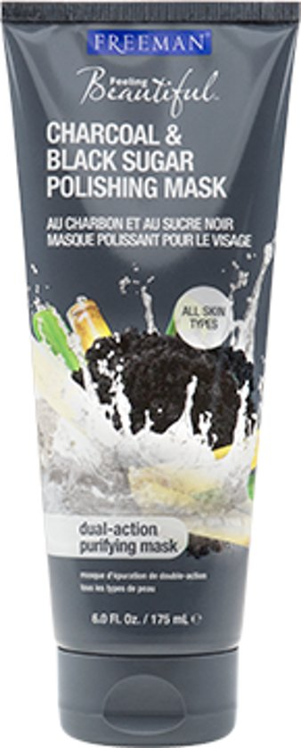 Freeman Facial Polishing Mask Charcoal & Sugar