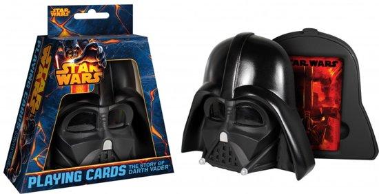 Afbeelding van het spel Star Wars - Speelkaarten - The Story of Darth Vader - Darth Vader Helmet
