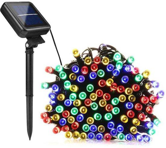 4-Seizoenen Waterdichte Solar Snoerverlichting - 50 Lampjes - 6,4m - Multi-colour