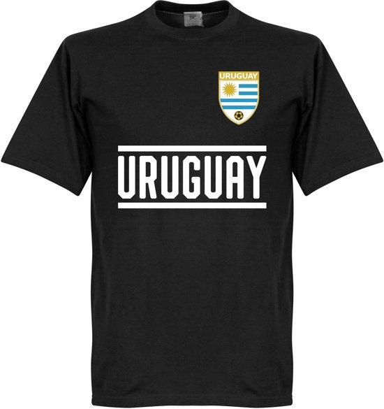 Uruguay Keeper Team T-Shirt - Zwart  - XS
