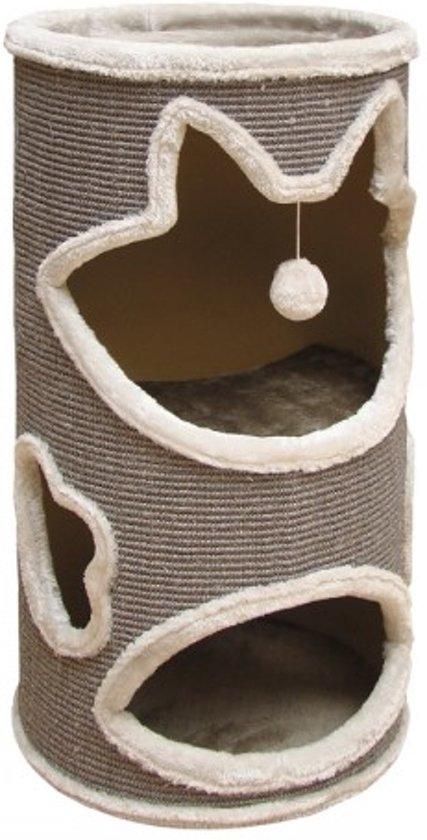 Nobby Krabton Jillis - Kat - Met balletje - 45 x 100 cm - Grijs