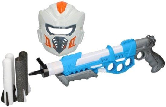 Eddy Toys Speelset Gun Wit/blauw/grijs 6-delig