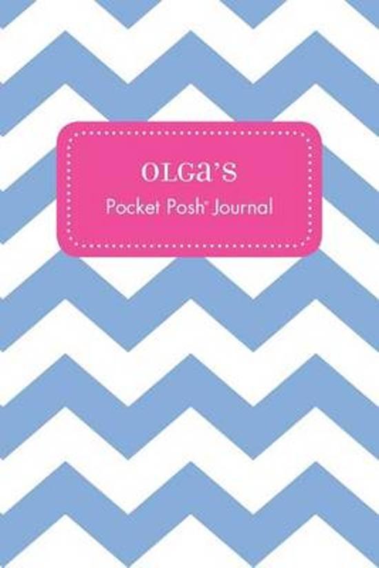 Olga's Pocket Posh Journal, Chevron