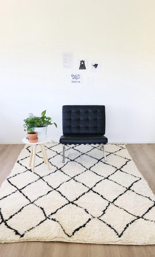 marokkaans berber kleed beni ouarain 300x200cm. Black Bedroom Furniture Sets. Home Design Ideas