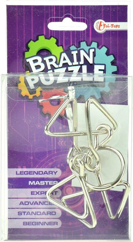 Toi-toys Brain Puzzle Hersenkraker Expert Zilver/paars