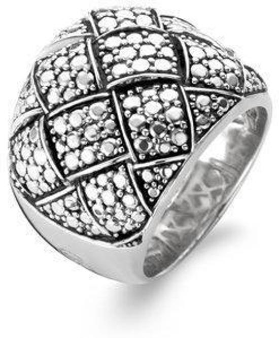 Ti Sento Ring 12008SD - Maat 17.75 mm (56) - Zilver