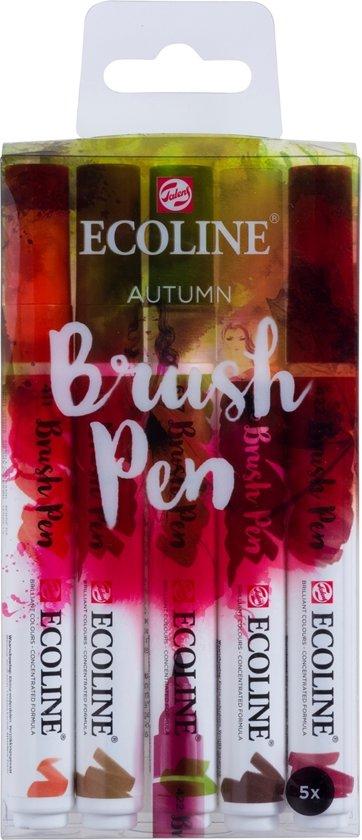 "Talens Ecoline 5 brush pens ""Autumn"""