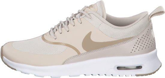 nike sneakers dames beige