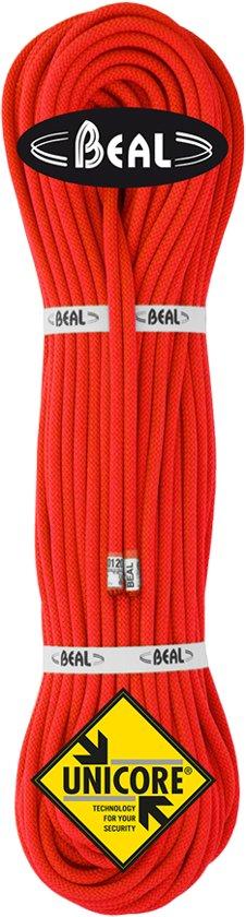 Beal Gully 7.3 Unicore Ultralicht dubbel- en tweelingtouw 50 Meter Oranje